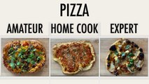 4 Levels of Pizza: Amateur to Food Scientist