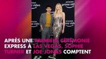 Sophie Turner et Joe Jonas amoureux à Paris : leur mariage approche à grands pas