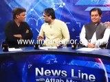 Karachi Press Club Ke Sadar Per PTI Leader Ne Hath Utha Diya