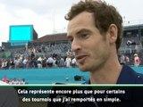 """Queen's - Murray : """"Ce titre représente plus que certains tournois remportés en simple"""""""