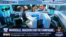Marseille: Emmanuel Macron chef de campagne