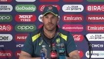 Australia's Aaron Finch pre England