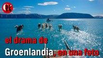 Notable el deshielo en Groenlandia