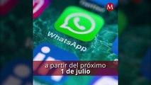 WhatsApp desaparecerá de estos celulares