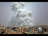 ميليشيات أسد والروس يستخدمان الذخائر العنقودية والأسلحة الحارقة في إدلب - هنا سوريا