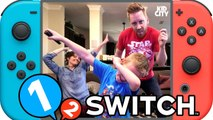 Let's Play Nintendo Switch Challenge--- 1-2-Switch Gameplay by KIDCITY