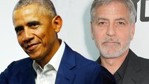 Barack and Michelle Obama Spotted Out With George and Amal Clooney in Lake Como