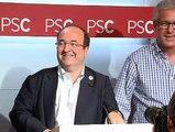 Miquel Iceta es ratificado como nuevo líder del PSC