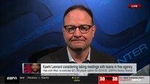 Adrian Wojnarowski on Kawhi Leonard considering taking meeting with teams in free agency