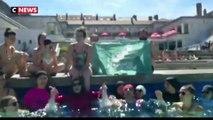 Grenoble : des femmes en burkini mènent une opération coup de poing dans une piscine de la ville
