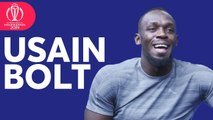Usain Bolt - India Will Beat England- - ICC Cricket World Cup 2019