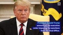 Trump Announces 'Hard-Hitting' Iran Sanctions