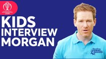 Kids Interview Eoin Morgan- - UNICEF One Day 4 Children - ICC Cricket World Cup 2019
