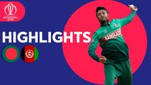 Bangladesh v Afghanistan - Match Highlights - ICC Cricket World Cup 2019