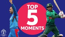 Nabi? Shakib? - Bangladesh v Afghanistan - Top 5 Moments - ICC Cricket World Cup 2019