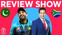 The Review - Pakistan vs South Africa - Wasim and Wahab Talk Yorkers- - ICC Cricket World Cup 2019