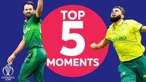 Tahir? Haris Sohail? - Pakistan vs South Africa - Top 5 Moments - ICC Cricket World Cup 2019