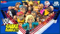 WWE Pokémon - Avengers Toys SHAKE RUMBLE Battle Compilation - KIDCITY