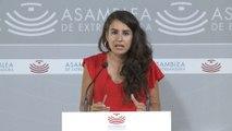 """Unidas por Extremadura: Vara """"ya está de retirada"""""""