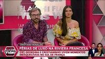 RONALDO de FÉRIAS em IATE de LUXO !!! «Vídeo»