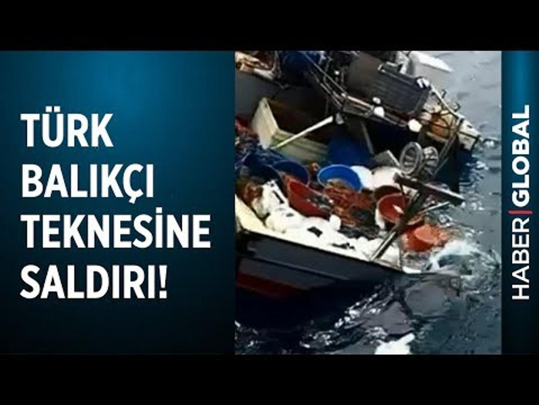Uluslararası Sularda Türk Balıkçılara Saldırdılar! Yeni Görüntüler Ortaya Çıktı!