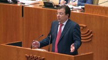 Arranca el pleno de investidura de Vara con críticas de la oposición