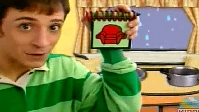 Blues Clues Season 2 Episode 11 - What Does Blue Want to Do on a Rainy Day