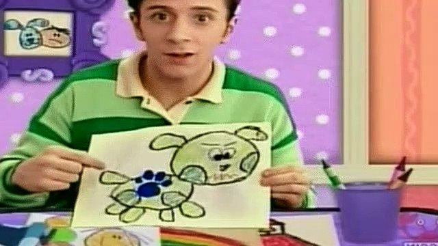 Blues Clues Season 2 Episode 14 - Blue's Sad Day