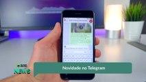 Novidade no Telegram