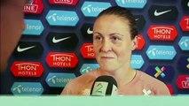 (Subtitled) 'We want revenge against England' - Norway's Herlovsen