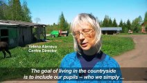 Russian farm community fights mental health stigma