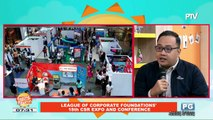 ON THE SPOT: League of corporate foundations' 18th CSR expo and conference
