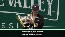 Barty deserves number one ranking - Halep