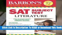 Sat Subject Test Literature (Barron s Sat Subject Test Literature)