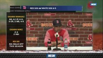 Alex Cora Still Confident In Mookie Betts Despite Lower Numbers