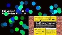 Full version College Hacks Best Sellers Rank : #4