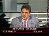 Canal + - 18 Février 1988 - Fin Flash , bande annonce, jingle