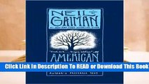 [Read] American Gods (American Gods, #1)  For Trial