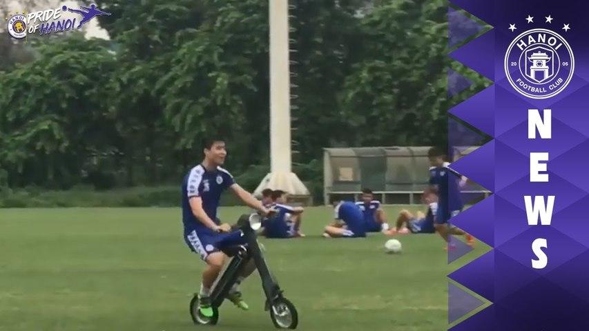 Bạn sẽ như cảm thấy được quay trở lại tuổi học trò sau khi xem xong clip này của Duy Mạnh | HANOI FC | Godialy.com