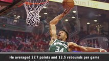 Giannis Antetokounmpo named NBA MVP