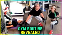 Hina Khan Hardcore WORKOUT In The Gym | Hina's Gym Routine Revealed