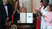 Trump signs executive order to make health costs more transparent