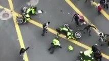 Un policier fonce volontairement dans un skateur et déclenche une émeute