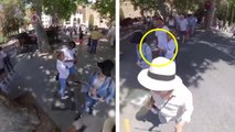 Il filme ses pickpockets sans le savoir grâce à sa caméra 360°