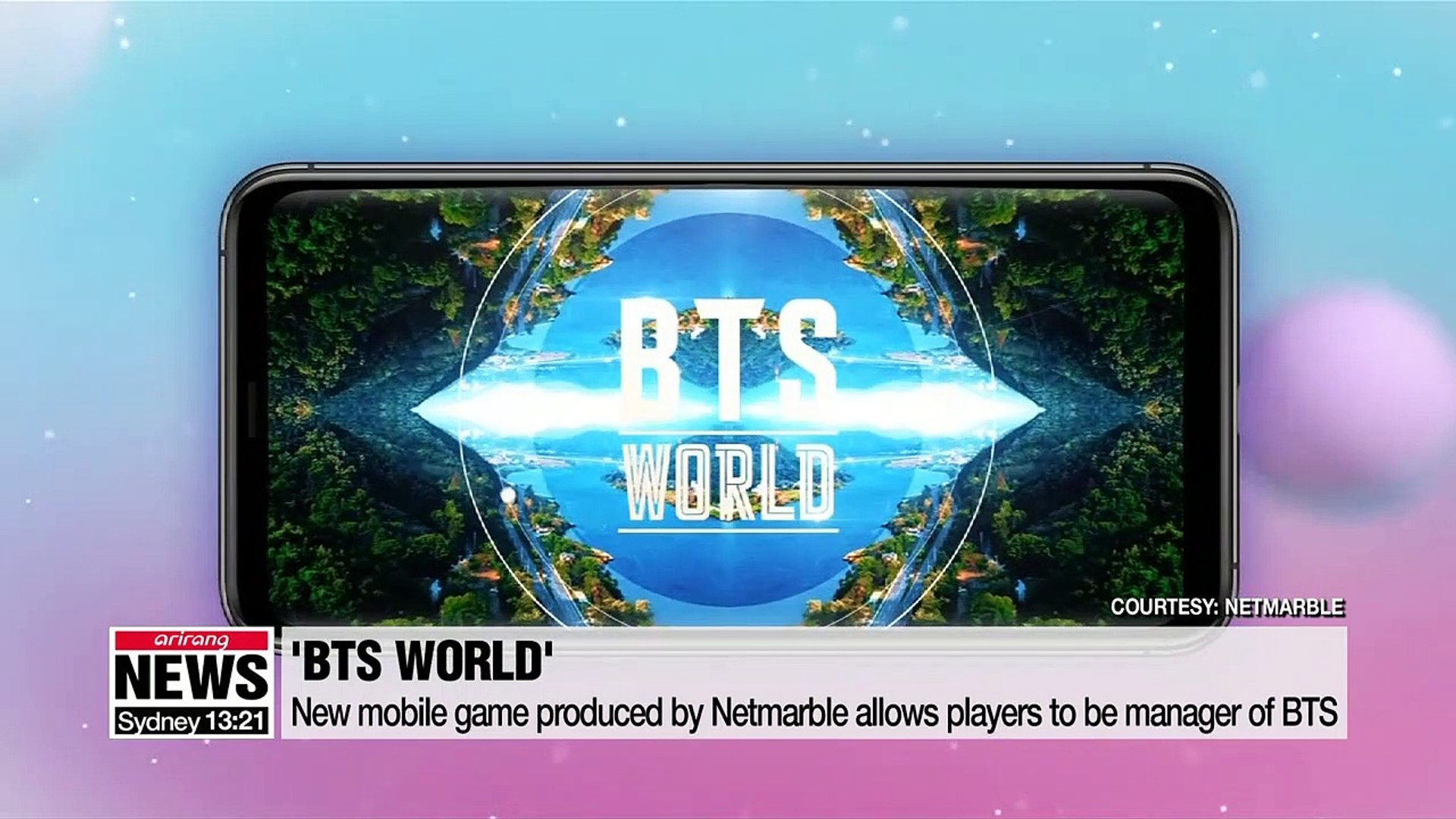 Boyband BTS to launch new mobile game where players manage band