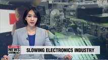 Production, exports for S. Korea's electronics industry dropped between 2013-2018: Report