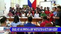 Senado, hati ang opinyon sa joint investigation sa Recto Bank incident