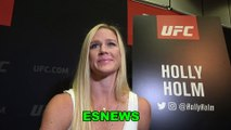 Holly Holm Going For Pacquiao vs Thurman