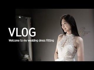 Welcome to My Wedding Dress Fitting | 김수민 sookim [ENG SUB/한글 자막]
