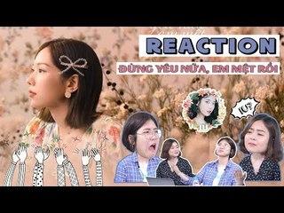 NGƯỜI HÀN XEM MV 'ĐỪNG YÊU NỮA, EM MỆT RỒI' - MIN   TÁN NHẢM VIỆT HÀN EP. 51